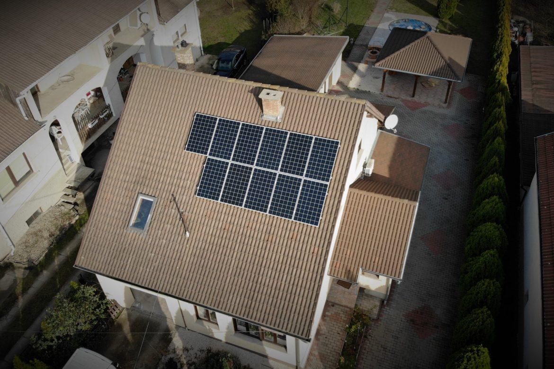 Vácrátót-napelemes-rendszer